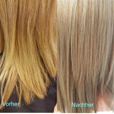 Strähnen mit dunkelbraune haare blonden ▷ 1001+