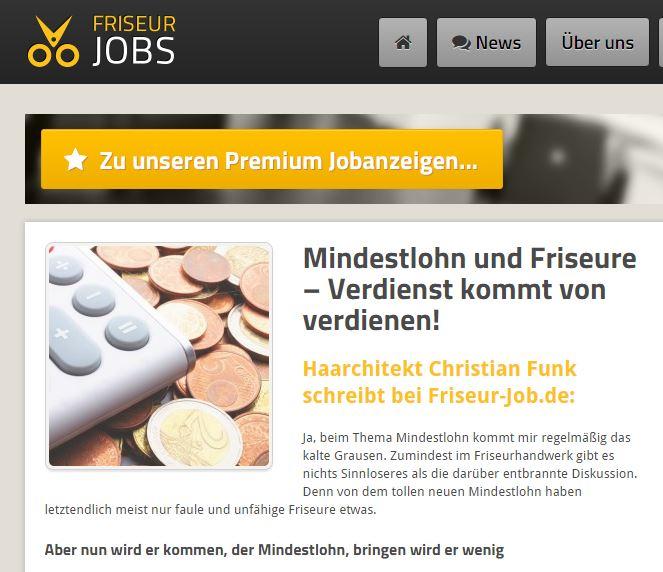 Haarchitektur-Lüneburg-Christian Funk-Friseur - Job Gastbeitrag