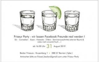 Friseur Party - Nähe Bremen