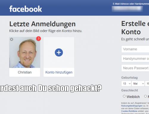 So einfach kannst Du Dein Facebook-Profil vor Hacking-Angriffen schützen!